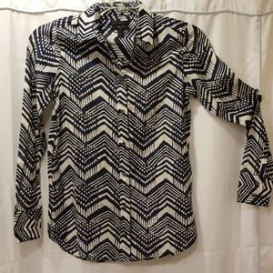 J. Crew classic fit by shirt Size 0